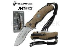U.S. Marines by MTech USA USA M-A1020TNCS SPRING ASSISTED KNIFE