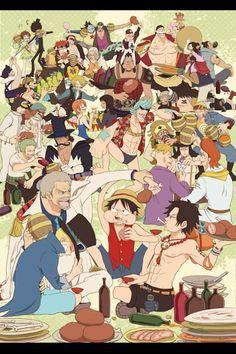 Monkey D Luffy S Family One Piece Anime One Piece Fanart