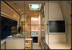 Dombi by Outside Vans - sweet Mercedes Sprinter cargo van conversion