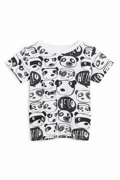 Buy Panda All Over Print T-Shirt (3mths-6yrs) from the Next UK online shop