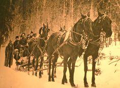Days of the Klondike Gold Rush, photo archived at MacBride Museum, Whitehorse, Yukon