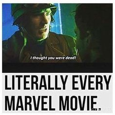 """Literally Every Marvel Movie"" XD HAHAHA!!! True! #Avengers #CaptainAmerica #SteveRogers"