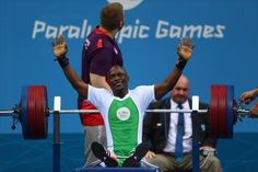 Records tumble on opening day of powerlifting 08.09.2016 There are first medals of the Paralympic Games for Vietnam and Hungary as athletes raise the bar at the start of competition at Riocentro - Yakubu Adesokan