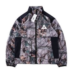 5be8e6ce90753 Palace All Over Leafs Coach Jacket Playin up the textures #palace #palacio  #alloverleafs