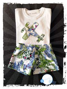 T-shirt - camiseta personalizada conjuntó bóxer lycra DRAGONFLY // https://m.facebook.com/little.candela.7 // Little Candela
