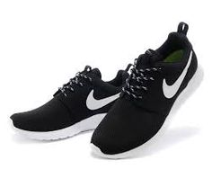 Black and white nike shoes mens : buy nike sneakers & shoes White Nike Shoes, Nike Shoes Cheap, Nike Free Shoes, Running Shoes Nike, Black Shoes, Cheap Nike, Nike Roshe Run Black, Sneaker Women, Nike Shoes Outfits