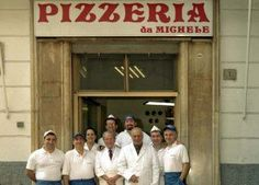 For over a century, five generations of master pizza makers at L' Antica Pizzeria da Michele have been serving authentic Neapolitan Pizza. This rustic little pizzaria is a favorite for the locals of Naples Napoli Italy, Sicily Italy, Toscana Italy, Sorrento Italy, Venice Italy, Tuscany, Eat Pizza, Good Pizza, Venice Travel