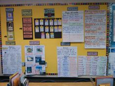 anchor charts and bulletin boards for the bilingual classroom.