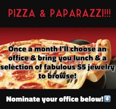 Pizza and paparazzi, Paparazzi Accessories with Alicia Zeller #24034