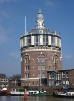 Watertower, De Esch. Rotterdam, NL. www.parfumflowercompany.com