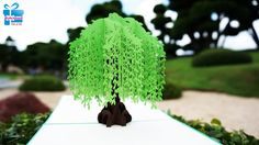 Willow Tree pop up card/kirigami pattern