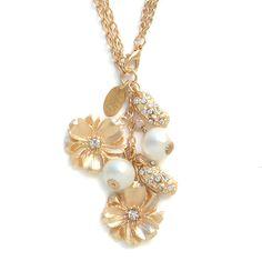 John Wind Studio Necklace Georgia On My Mind Southern Rose Jewelry Maximal Art #MaximalArt #Lariat