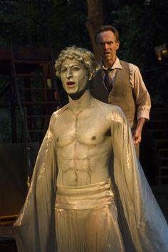 Ariel and Prospero (The Tempest, Shakespeare Santa Cruz, 2007)