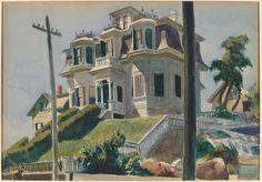 Edward Hopper, Haskell's House (1924)  ~Repinned Via Pamela Scott http://25.media.tumblr.com/tumblr_mbeapqShQM1r7rhc9o1_500.jpg