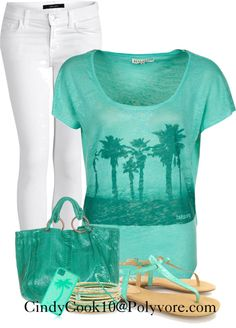 """""""Palm Tree Top"""" by cindycook10 on Polyvore"""