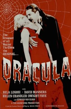 "Dracula Movie - Full Color - Measures: 24"" x 36"" - Comes Rolled"