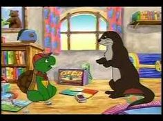 Franklin and Otter's Visit.  Access via the TDSB VIrtual Library. See your Teacher-Librarian for login/password information. [Available to all public funded Ontario schools.] In this French version, Franklin is excited when his old friend Otter returns for a visit, but when they try to play, the friends discover that everything has changed. It's only when they try a new game that they realize their friendship is still strong. Everything Has Change, Teacher Librarian, Your Teacher, Otter, Old Friends, Ontario, Schools, Audiobooks, Dinosaur Stuffed Animal