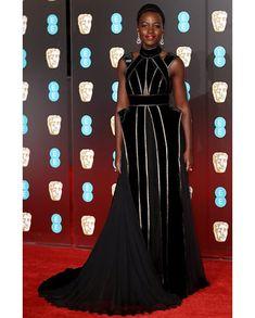 Elie Saab Haute Couture, Haute Couture Dresses, British Academy Film Awards, All Black Dresses, Nice Dresses, Dress Black, Robes D'oscar, Mode Unique, Dior Gown