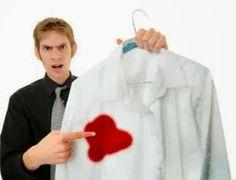 Como tirar mancha de sangue da roupa