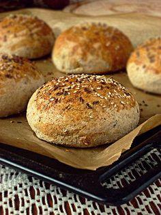 Hamburger, Good Food, Bread, Recipes, Blog, Brot, Blogging, Baking
