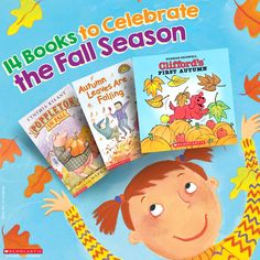 From colorful trees to pumpkin picking, these 14 titles will have your family excited to enjoy all of autumn's pleasures together.
