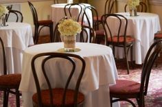 Weddings at the 173 Carlyle House in Norcross; Centerpieces by #abbysfloraldesigns