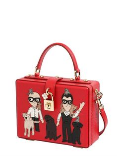 DESIGNERS PATCHES DAUPHINE DOLCE BOX BAG