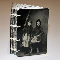 Handmade Family History book ~ It would be neat to make one for your ancestors with pictures, dates, places etc.