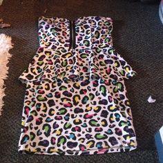 WINDSOR Dresses - Windsor Peplum 80s style dress
