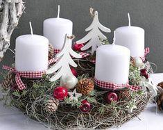 Advent wreath * FIR *.