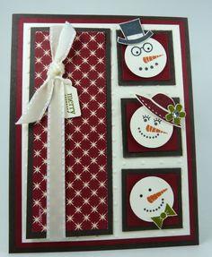 Snowman card!