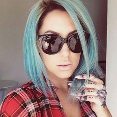 #Blonde Hair #Fantasy #Blue