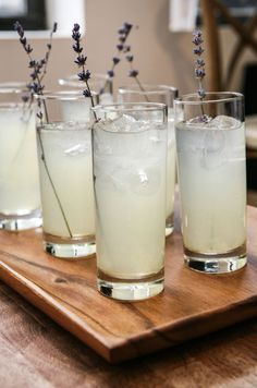 Colin's fab recipe for vodka and lemonade cocktail with a lavender twist!