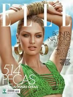 Candice Swanepoel for Elle Brazil  September 2012