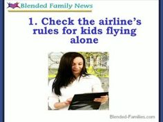 Children Flying Alone Rules For Kids, Family News, Fear Of Flying, Alone, Road Trip, Children, Youtube, Young Children, Boys