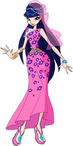 Winx Club S6 | Musa Egyptian Dress