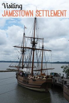 Visiting Jamestown Settlement in the Colonial Williamsburg area in Virginia
