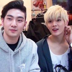 Baekho and Ren - Nu'est