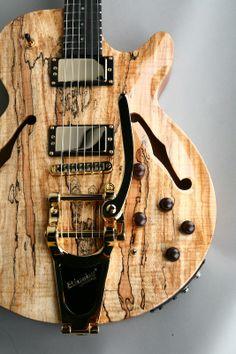 Carvin pretty not bass but dang pretty! Jazz Guitar, Guitar Art, Music Guitar, Cool Guitar, Acoustic Guitar, Guitar Pics, Guitar Chords, Fender Telecaster, Archtop Guitar