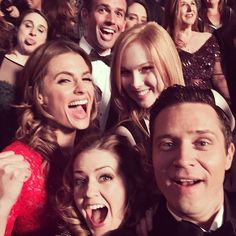 From Juliana's Instagram- Thank you to all you beautiful #Castle fans for seven fabulous seasons. And for that, I give you epic #selfie 2.