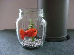 Amigurumi fish; crochet; can translate with Google  ~~