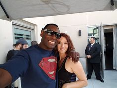 David Harewood on Twitter: Me and my girl. #SupergirlCW #SDCC2016