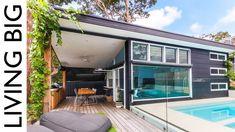 Luxury Modern Small Home Built In Suburban Backyard - YouTube