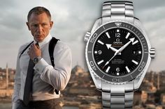 Daniel Craig's 007 in an OMEGA Seamaster Planet Ocean 600M