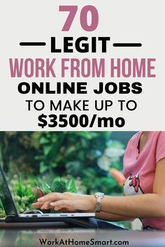 Work Online Jobs, Legit Online Jobs, Online Jobs From Home, Legit Work From Home, Legitimate Work From Home, Work From Home Tips, Work At Home Jobs, Home Based Jobs, Work From Home Companies