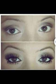 Younique 3d mascara before and after pics.  You can get more information here: https://www.youniqueproducts.com/beautyproducts or watch this youtube video of the product.   https://www.youniqueproducts.com/RoniWalker