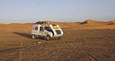 Sortie du sable Merzouga