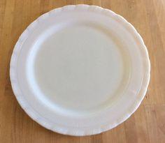 Vintage Milk Glass Plate by HomesteadDesign on Etsy