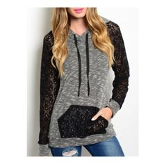 Spotted while shopping on Poshmark: ✨LAST ONE✨The Chic Hoodie! #poshmark #fashion #shopping #style #Tops