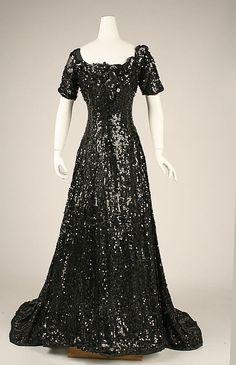 Evening dress  Date: ca. 1905